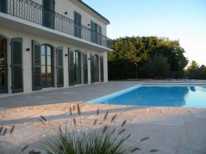 Aménagement terrasse et piscine Bourgoin-Jallieu