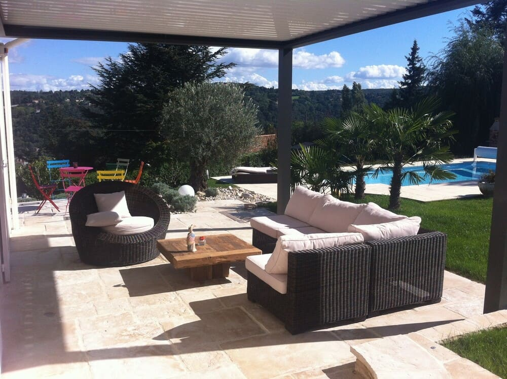 Aménagement terrasse et piscine Condrieu