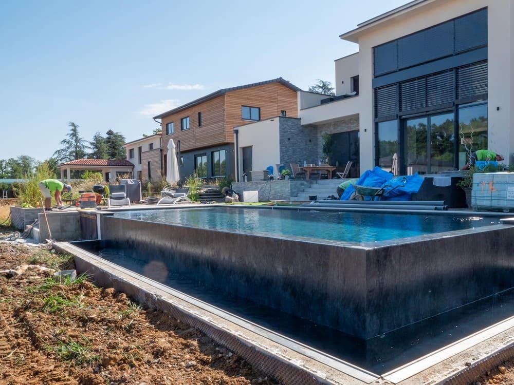 Création de piscine Mont d'Or