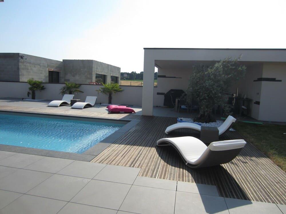 Création de piscine Valence