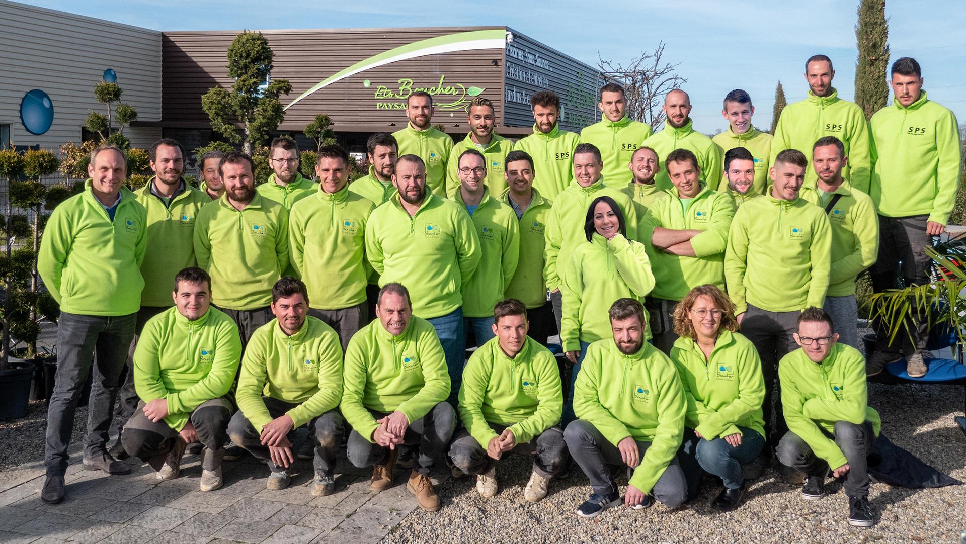 Equipe paysagiste Clonas-sur-Varèze
